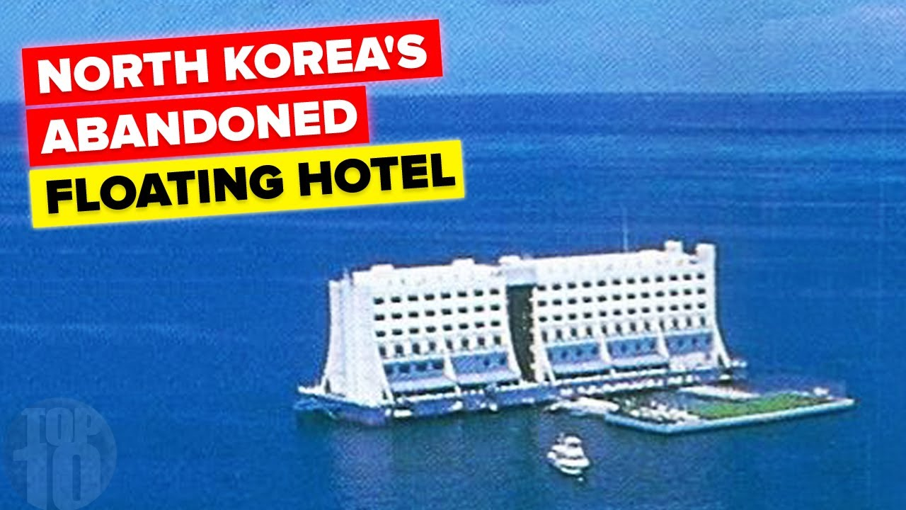North Korea's Abandoned Floating Hotel