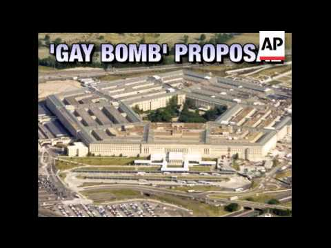 The idea of a non-lethal chemical bomb containing aphrodisiacs was among nearly 200 proposals the Pe