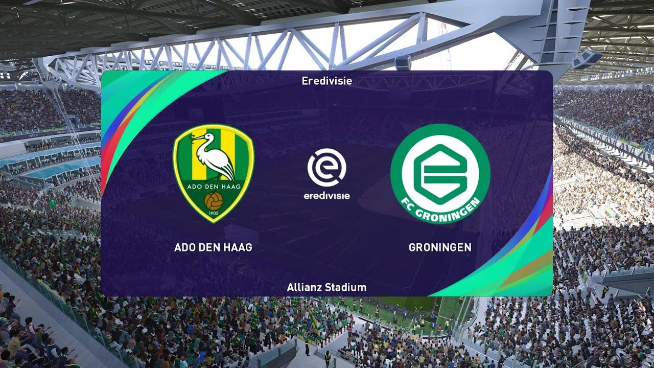 Pes 2021 Ado Den Haag Vs Groningen Netherlands Eredivisie 20 09 2020 1080p 60fps Youtube