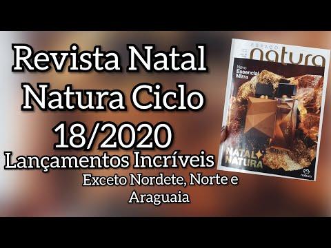 Revista Natal Natura Ciclo 18/2020 Com Super Lançamentos