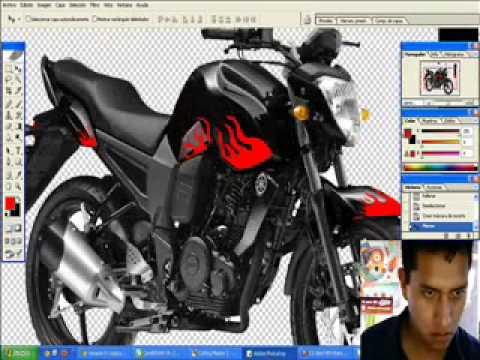 Dise o para yamaha fz youtube for Disenos de motos