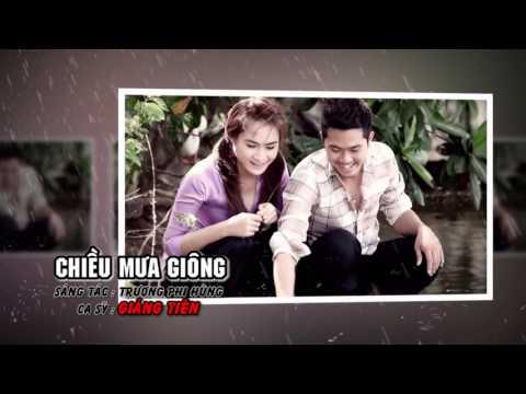 Giáng Tiên - CHIỀU MƯA GIÔNG