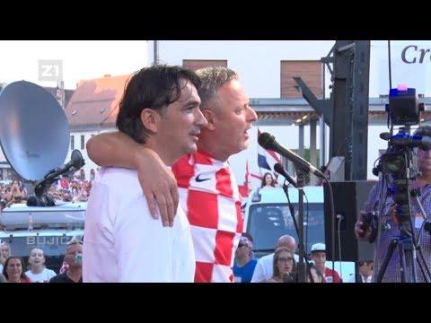 DOČEK ZLATKA DALIĆA U VARAŽDINU! (Bujica SPECIJAL 18.07.2018.)