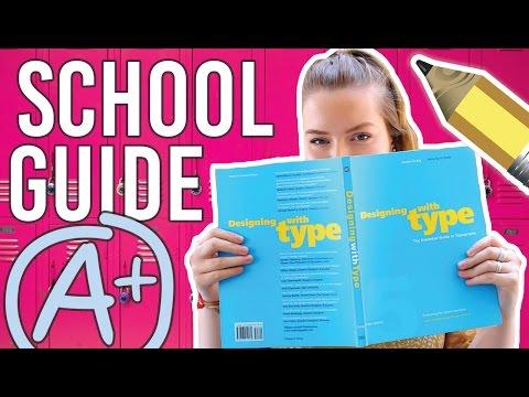 School Life Hacks! How to Get Good Grades! School Guide