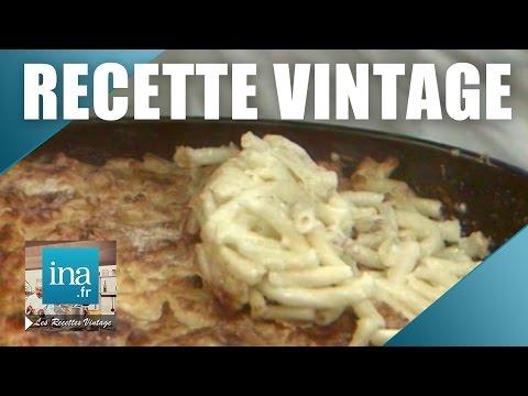 Recette : Poivron à la basquaise et gratin de macaronis de Paul Bocuse | Archive INA