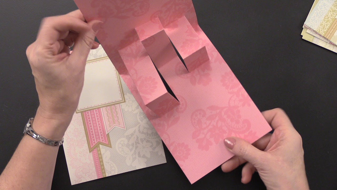 Anna Griffin Pop Up Card Making Kits Youtube