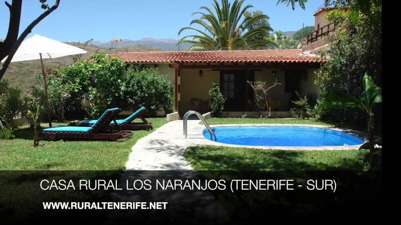 Casa rural los naranjos arico tenerife sur youtube for Casa con piscina tenerife