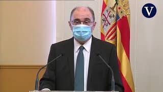 Zaragoza, Huesca y Teruel serán confinadas perimetralmente desde mañana