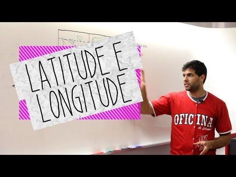 Dica de Geografia - Latitude e Longitude - Oficina do Estudante