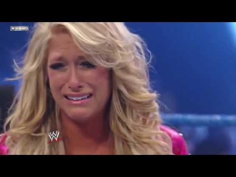 WWE SmackDown Kelly Kelly & Edge vs LayCool & Dolph Ziggler