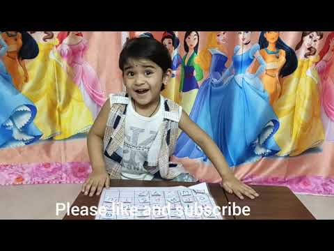 Kids alphabetical learning activity   letter recognition