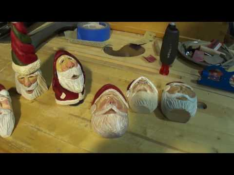 XMAS ORNAMENTS FOR BEGINNING CARVERS