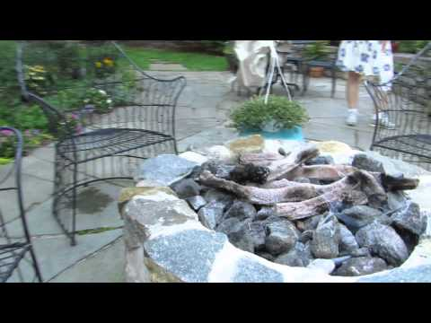 Natural Gas Outdoor Fire Pit