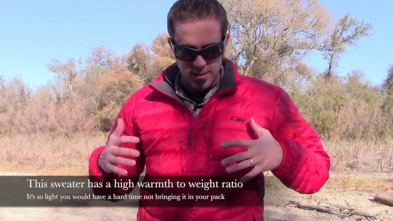 da5949d6b Outdoor Research Transcendent Down Sweater Review - YouTube