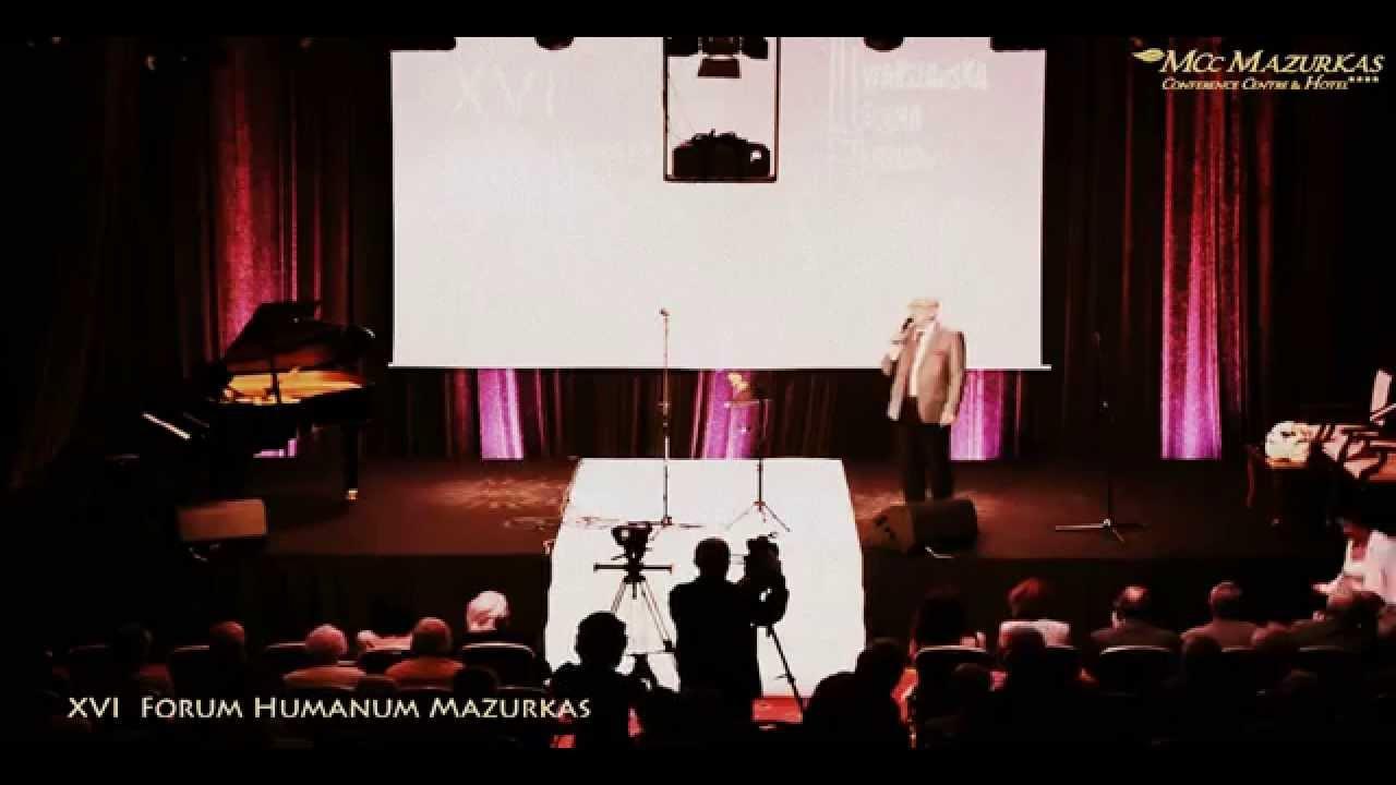 XVI Forum Humanum Mazurkas - Andrzej Bartkowski- Rozpoczęcie II cz. Koncertu