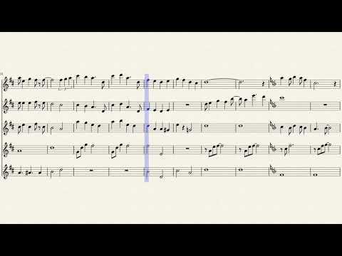 A Whole New World for flute choir