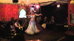 Shayla Belly dancing every Friday at Babouch Moroccan Restaurant