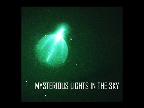 Mysterious Lights in the Sky