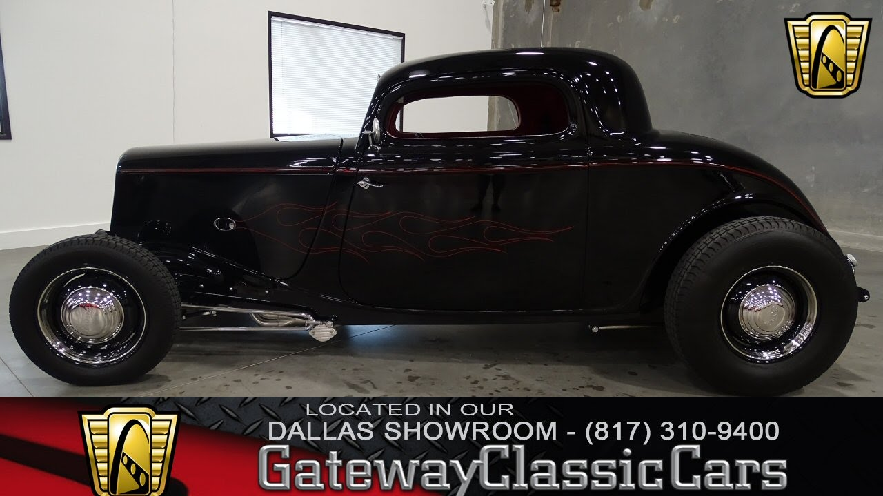 1934 Ford 3 Window Coupe Stock #186 Gateway Classic Cars of Dallas ...