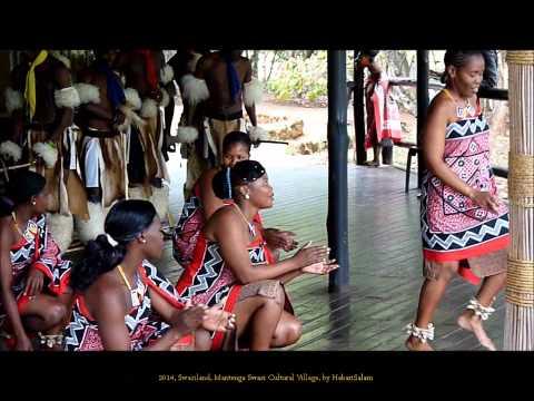 2014 Swaziland   Mantenga Swazi Cultural Village, Dances, by HabariSalam