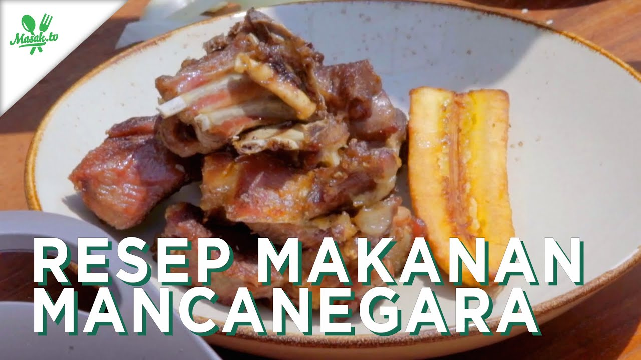 Resep Makanan Mancanegara