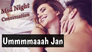 Mid Night Romantic Conversation Between Girlfriend Boyfriend | Cute Couples Stories