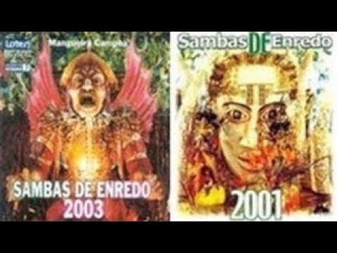 🎵 Grandes Sambas Enredo Especial (Carnaval Rio 2001 - 2002 - 2003) 🎵