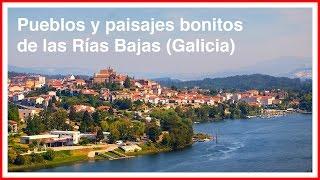 Galicia. Pueblos bonitos y paisajes con encanto en las Rías Bajas.