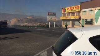 Incendio en Huércal de Almería