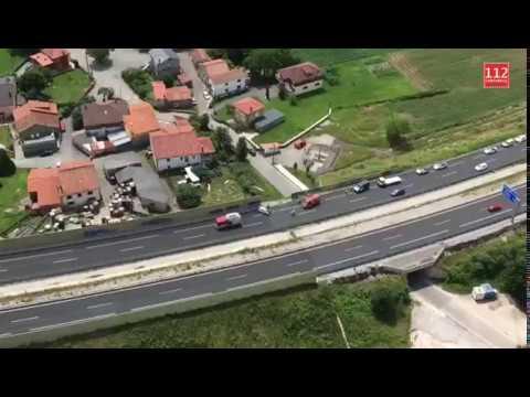 Un hombre ha fallecido en un accidente en la A-8 a la altura de Santa María de Cayón