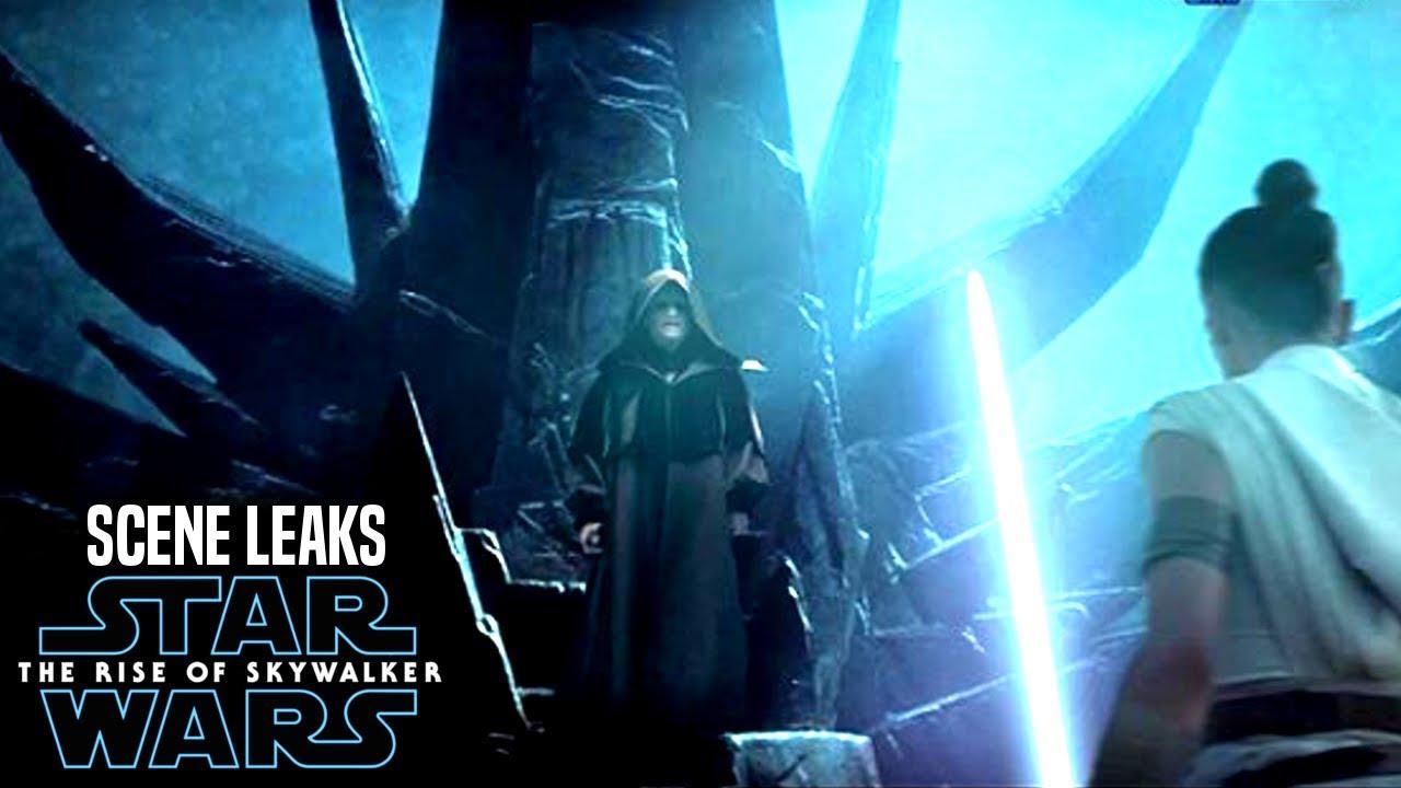 Star Wars The Rise of Skywalker Scene Leaks