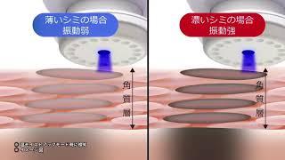 HITACHI HADACRIE CM N5000 - Máy massage làm sạch da , đẩy tinh chất serum Hitachi Hadacrie cm N5000