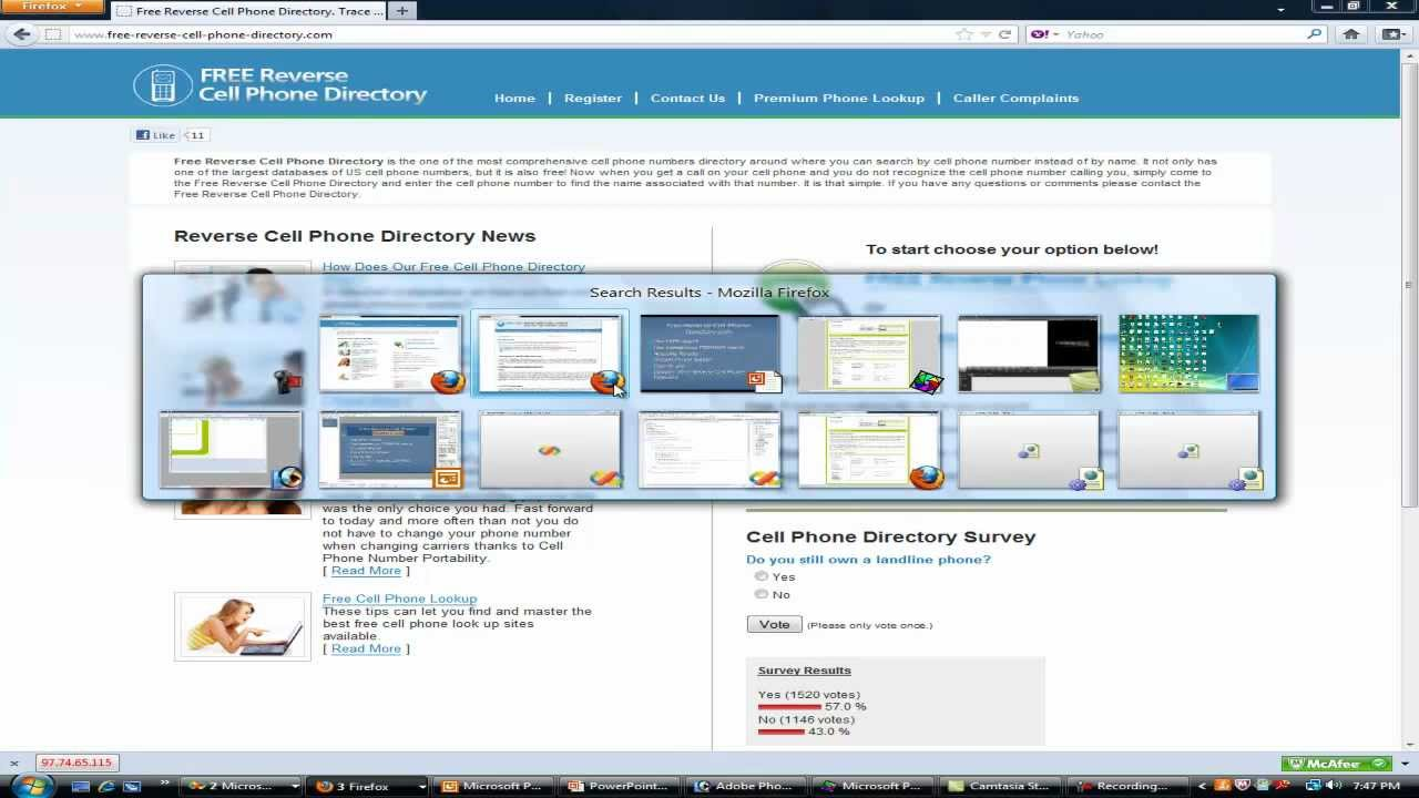 Free reverse cell phone directory youtube