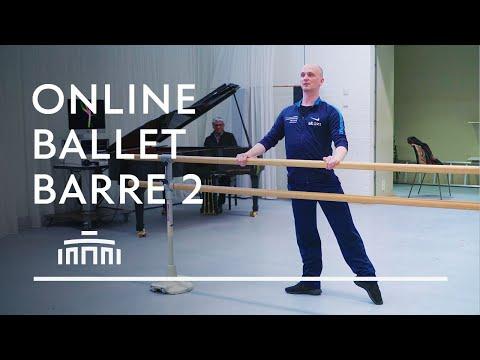 Ballet Barre 2 (Online Ballet Class) - Dutch National Ballet