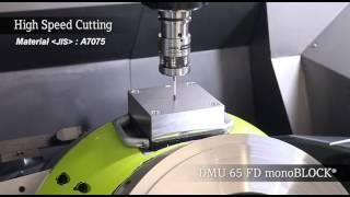 DMU 65 FD monoBLOCK® Turning demonstration & High speed cutting