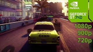 DiRT Showdown GamePlay [PC] in Nvidia Geforce GT 740 - No Commentary part 1