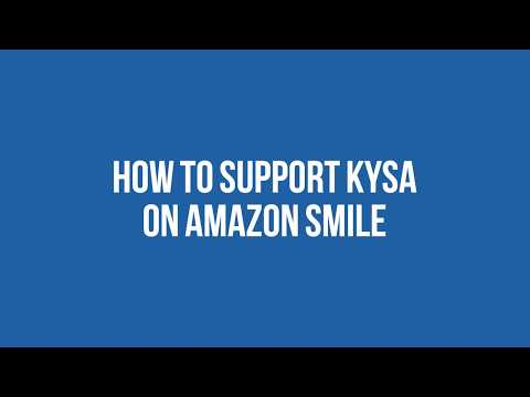 How to Support KYSA on Amazon Smile