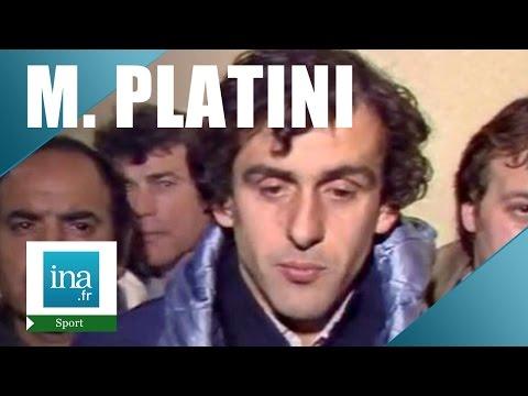 Coupe du monde de football 86 : France - RDA et interview Michel Platini | Archive INA