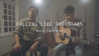 JAMES ARTHUR - FALLING LIKE THE STARS [Music Collision Cover] Feat. Amirul