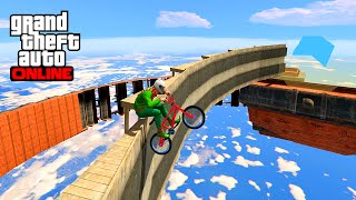 IMPOSSIBLE BMX TRICKS GTA 5 ONLINE(Course quasi impossible à base de tricks sur gta 5 online. ☆ Chaîne MultiGaming LaSalle : https://www.youtube.com/channel/UChi_U5HDWUfudfl8KKfuWvg ..., 2015-12-27T21:40:13.000Z)