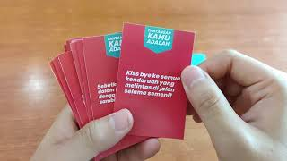 TRUTH OR DARE Card Game by Pandora Board Game - Unboxing Video screenshot 3