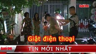 ⚡ Tin mới nhất | Dân cùng nạn nhân vây bắt thanh niên giật điện thoại