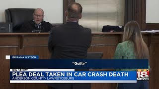 Plea Deal Taken In Car Crash Death thumbnail