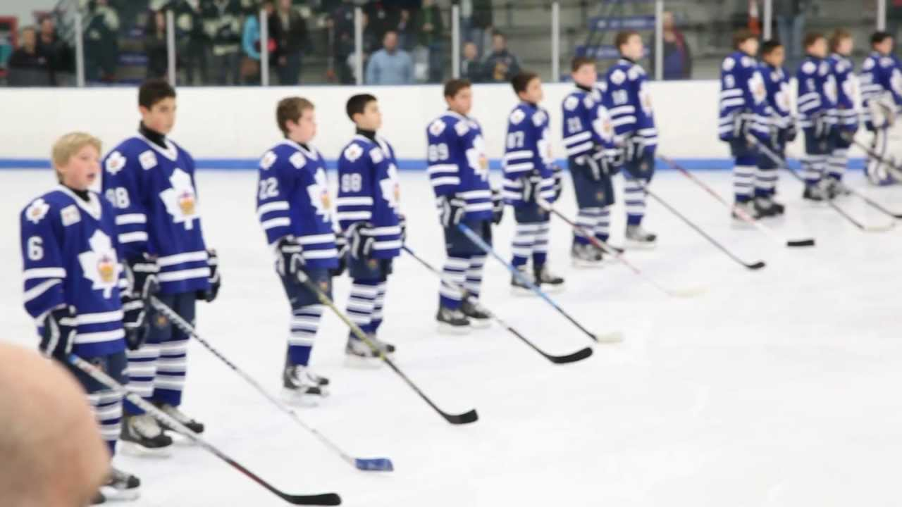 2012 Bauer World Hockey Invite Opening Night Games Youtube