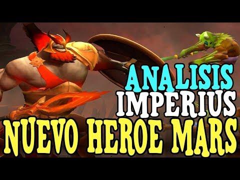 """¡PRIMICIA! NUEVO HEROE """"MARS"""" ANALISIS DE SUS HABILIDADES POR IMPERIUS - DOTA 2 thumbnail"""