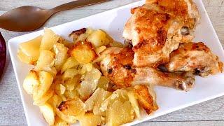 Курица и картошка в духовке Вкусно Shorts