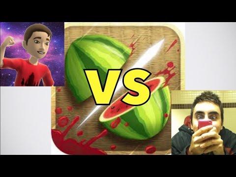 Fruit Ninja Challenge! MarceloSouzaF Versus KDM!