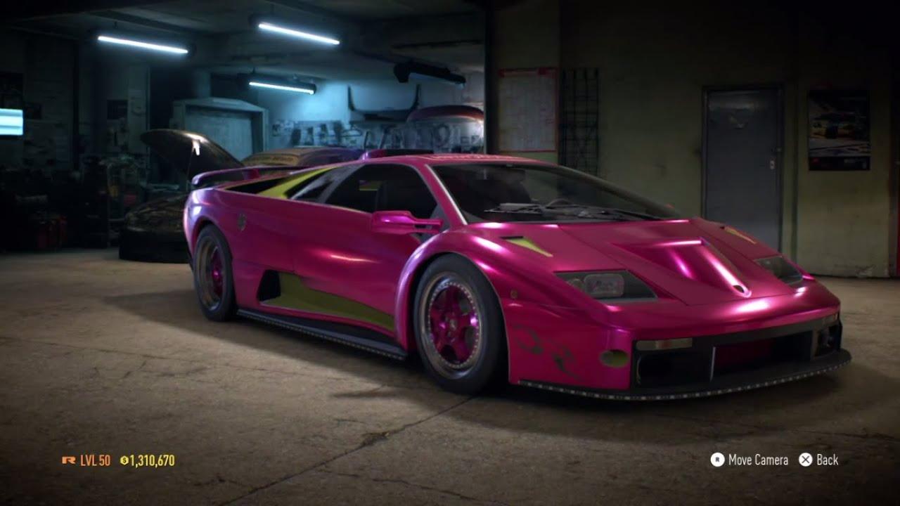 Need For Speed 2015 Morohoshis Lamborghini Diablo SV