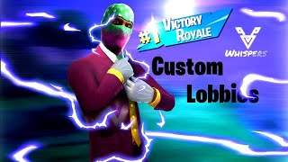 #77IsSus [ASMR] Live Stream | Fortnite Customs For Cash? | Free V-bucks Giveaway @ 2.5K Subs
