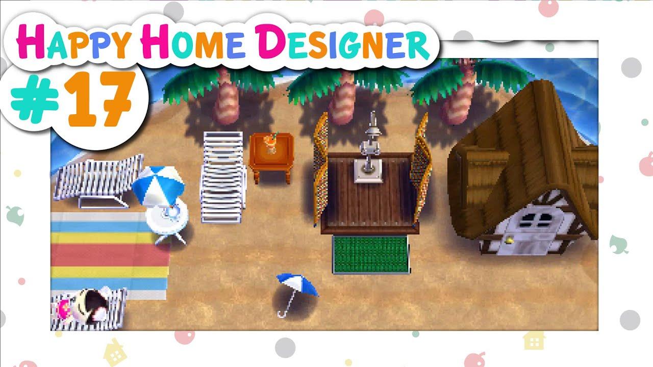 Animal Crossing Happy Home Designer 17 Pekoe 39 S Exotic Resort Youtube